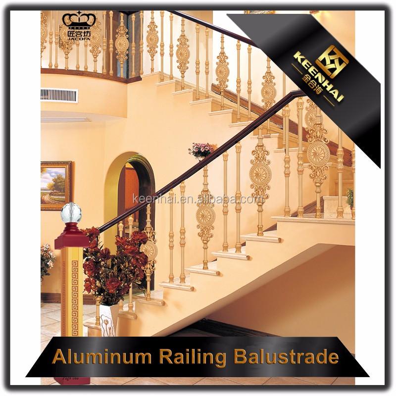 Interieur decoratieve leuning ontwerp messing trap leuningen buy product on - Interieur ontwerp trap ...