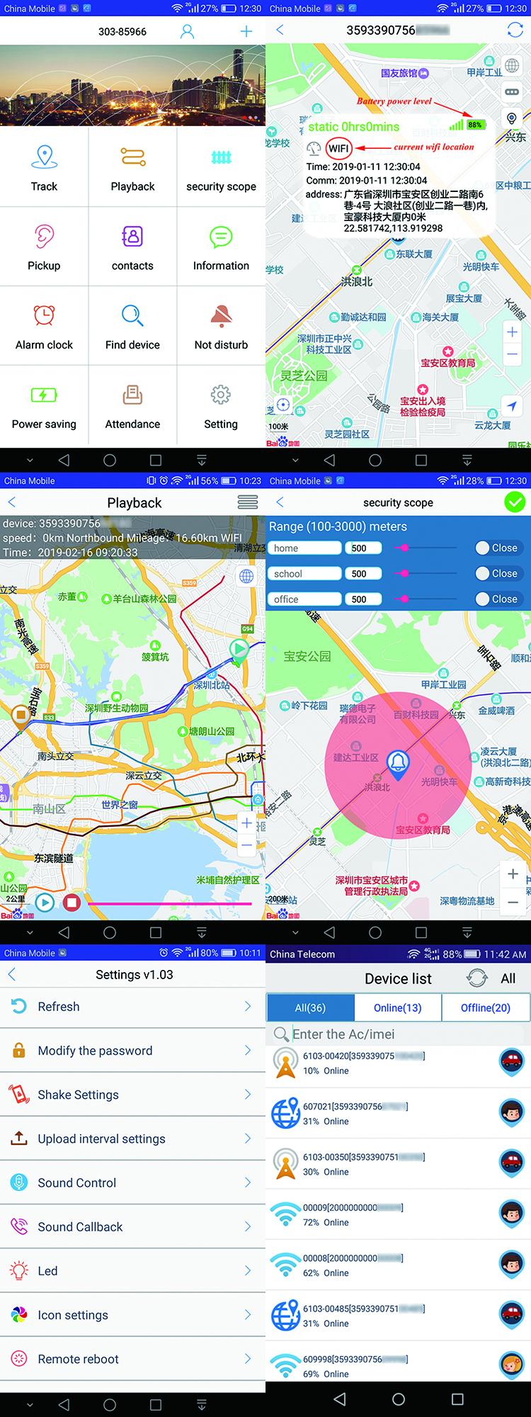 OEM car charger GPS tracker, dual USB 5V-2.1A support GSM + GPS + WIfi + LBS 여러 위치 울타리