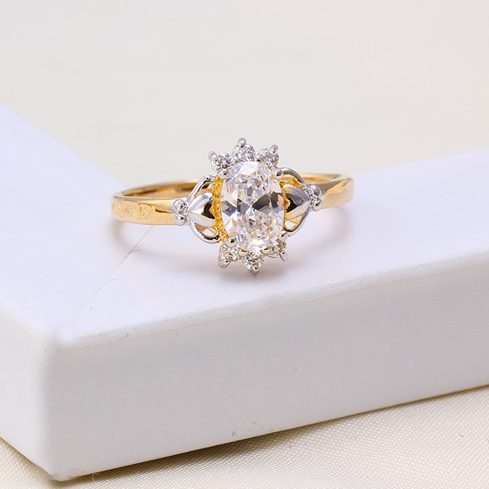 11608 Xuping Latest Simple Ring,Fancy Ladies Ring,Gold Plated ...