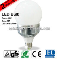 Golden Supplier TUV CE RoHS IEC Approved Dimmable E27 10W LED Bulb Decorative Plant Grow Lights (SEM-B110-01)