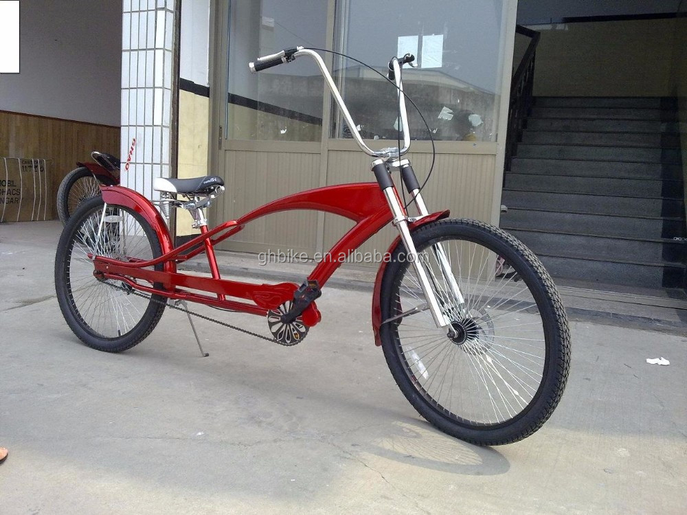 Long Frame Beach Cruiser Bike Stretch Beach Cruiser Bicycles For