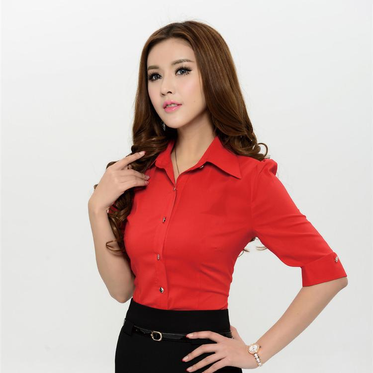 Red Blouse River Island