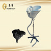adjusted neck hair salon wash basins with chair CE