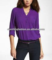 CHEFON The portofino shirt ladies button front shirts CES0001