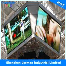 car advertisement text display SMD3535 LED MODULE P10 led display 960x960