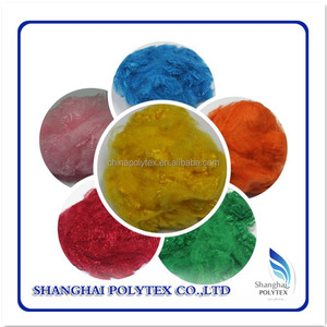 pet bottles recycled polyester staple fiber