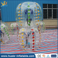 Inflatable human bumper ball/inflatable body bumper ball/soccer bubble inflatable human bowling ball