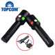 T6+10 leds Strong Light Flashlight Multifunctional Signal Torch Lantern
