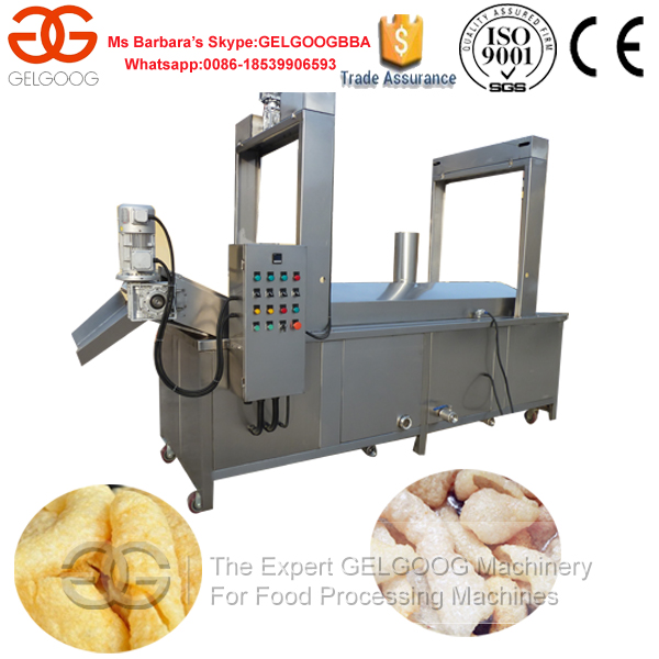 Belt Conveyor Frying Potato Chips Fryer Line