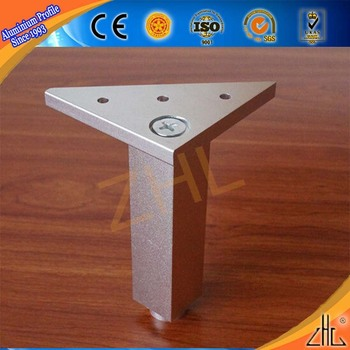 Deep Processing Mechanical Connector Threaded Aluminum Coated Gold Brushed Table