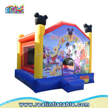 Small Inflatable bouncy / jumping castles, inflatable bounce course for kids, jumper game and bounce house