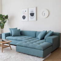 Living room furniture modern l shaped sofa bed