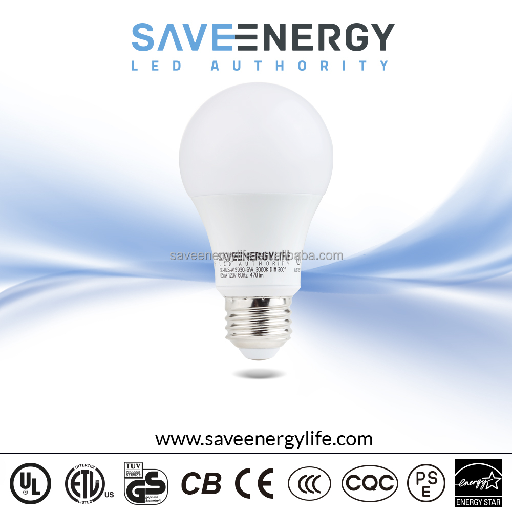 High quality led light bulb a19 e26 e27 socket 110v 220 volt led light bulbs