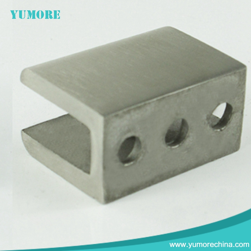 2017 New design stainless steel square corner glass clamp With Good Service
