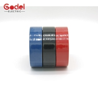 Colorful PVC Electrical Insulation Tape, 0.13mm 0.15mm Custom Electrical Insulating Tape