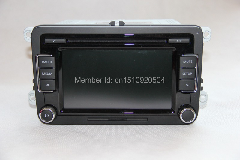 vw car radio stereo rcd510 original radio with code for vw. Black Bedroom Furniture Sets. Home Design Ideas