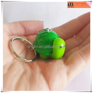 OEM 3d mini turtles plastic keychain models,custom OEM animal plastic keychain models,custom design keychain China manufacturer