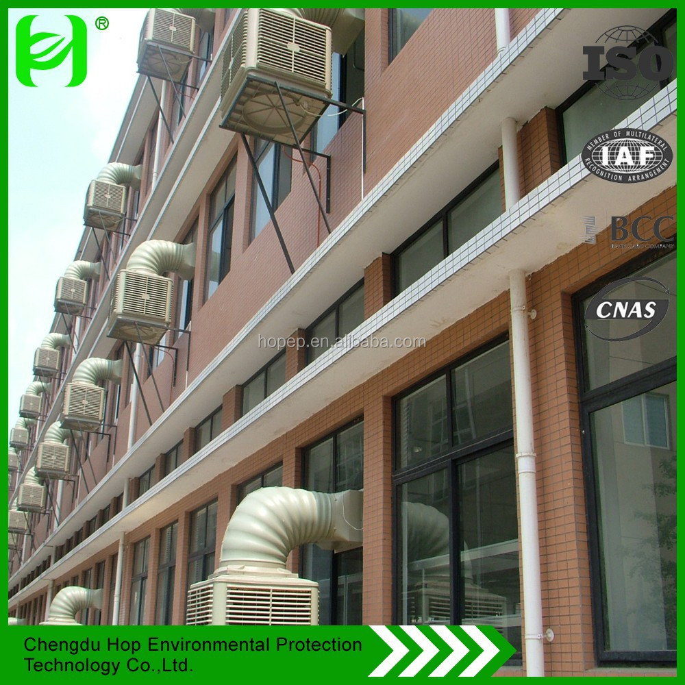 Hop Evaporative Air Cooler /wall & roof mounted evaporative air cooler/portable water cooling system