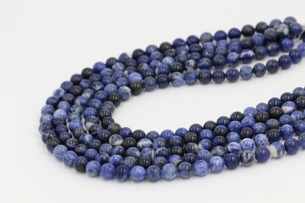 Bead manufacturer Bulk buy loose beads strand lapis lazuli stone bead for jewelry making