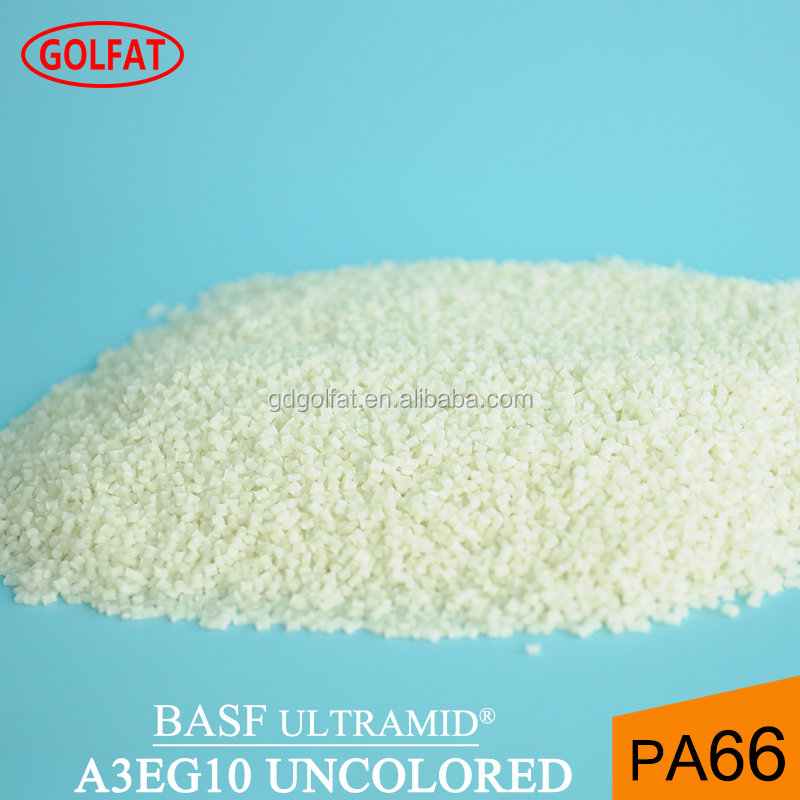 Nylon PA66 50% glass fibre reinforced plastic raw material for injection molding BASF ULTRAMID A3EG10 UNCOLORED