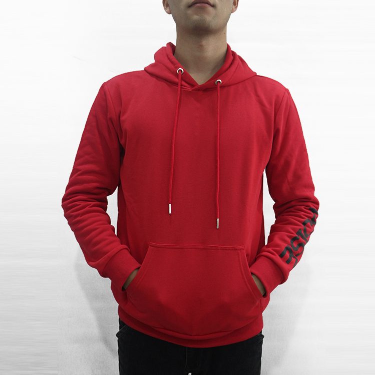 China Factory Custom 100% Cotton White <strong>Black</strong> Red <strong>Mens</strong> Embroidery Silkscreen Printing <strong>Hoodie</strong>