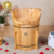 Factory Outlet Hot Sale Cedar One Person Wooden Steam Bath Spa Barrel