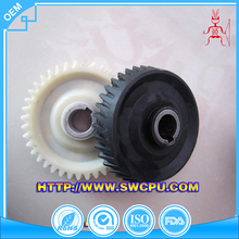 Factory molded machining custom made plastic cogs gear wheel