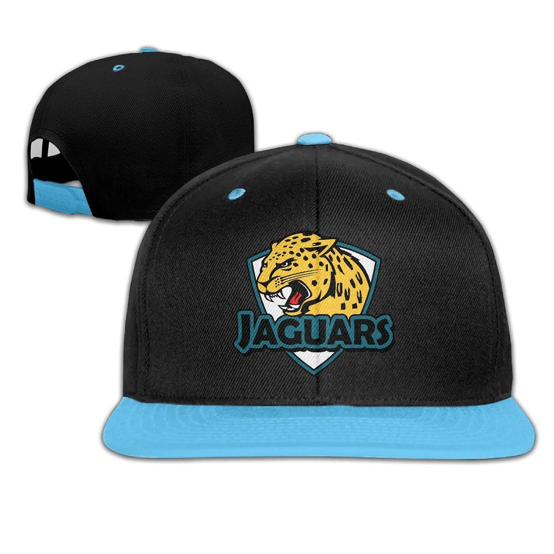 2dab1e53e9adf Get Quotations · VanEric Jaguar Shield Kids Adjustable Snapback Hip-hop  Baseball Cap