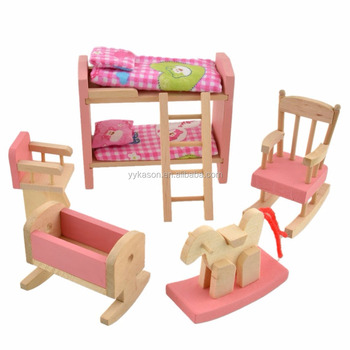 Oem Available New Design Dollhouse Miniatures Furniture Wholesale