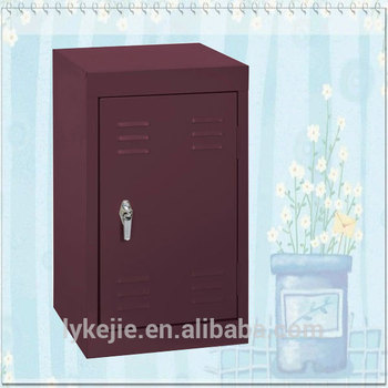Colors Of Bedroom Storage Cabinet Small Metal Mini Locker With ...