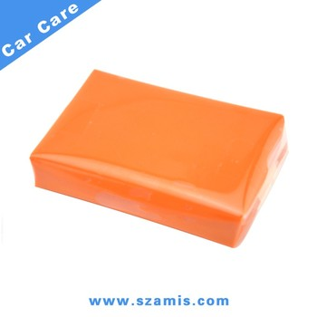 Shenzhen Factory 100G Orange Detailing Magic Car Body Clay Bar Cleaner