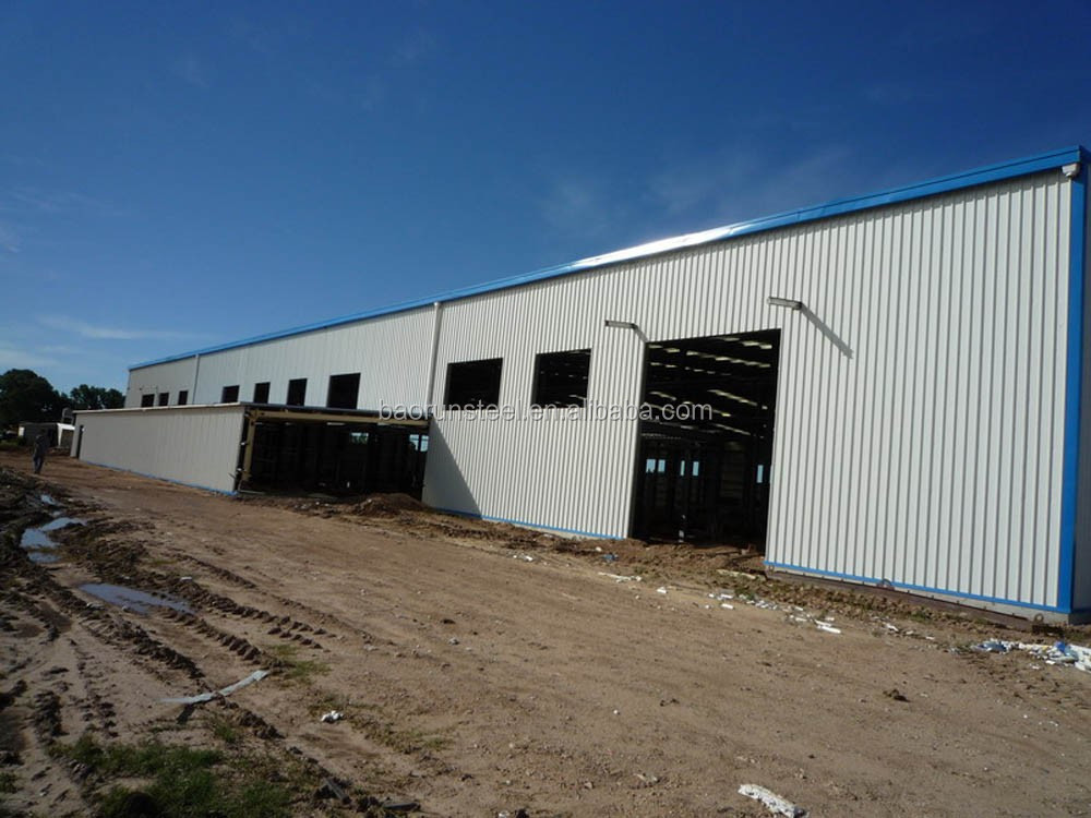cost-saving steel structure warehoue prefab house