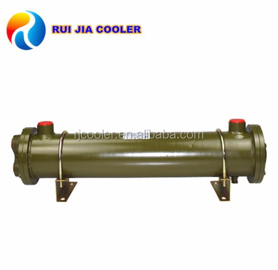Machinery cooling copper coil heat exchanger water cooler