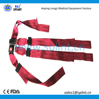 Medical Shoulder Harness Restraint Straps For Immobilizing Patients