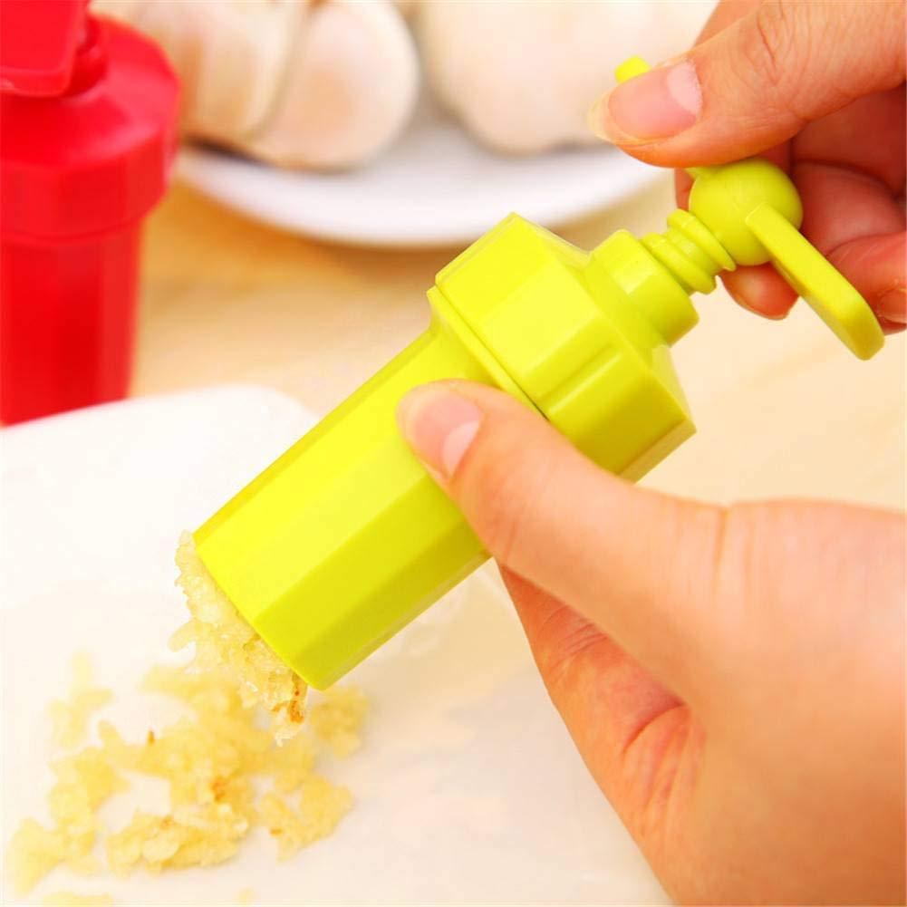 BFY Gadget Squeezer Masher Cutter Crusher Garlic Presses Twist Slicer Kitchen Tool