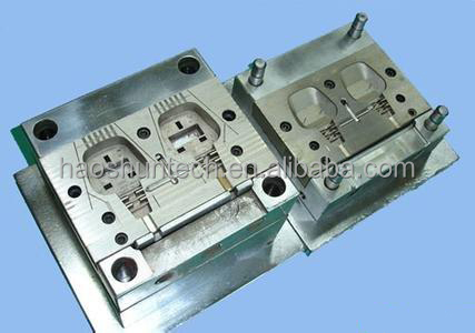 OEM Electronic connector plastic plug/socket parts molded plastic injection mould production
