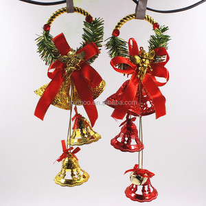 Christmas Festival Home Decorative Ornaments Hanging Plastic Wind Chimes