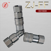 ZJ-FF ISO16028 flat face locked type hydraulic quick connector