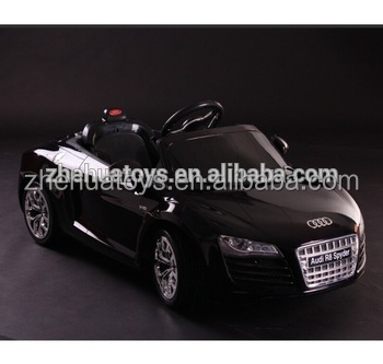 hot selling license audi rc car audi r8kids electric cars for 10 year olds