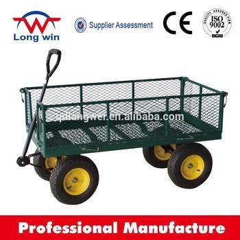 Pneumatic Power Source Folding Wagon Garden Wagon Cart Kids Wagon