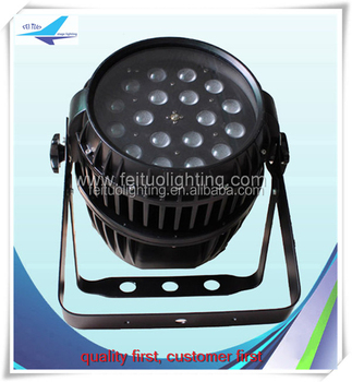 Stage Lighting Amber Color 18x10w Rgbw Led Par Light With Zoom ...