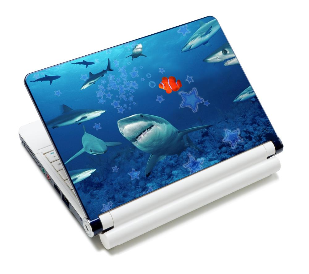 "Hot ! Cool Free Shipping 12.6"" 13"" 13.3"" 14"" 14.1"" 14.4"" 15"" 15.4"" 15.6"" Inch Laptop Skin Netbook Sticker Cover Decel Protectors"