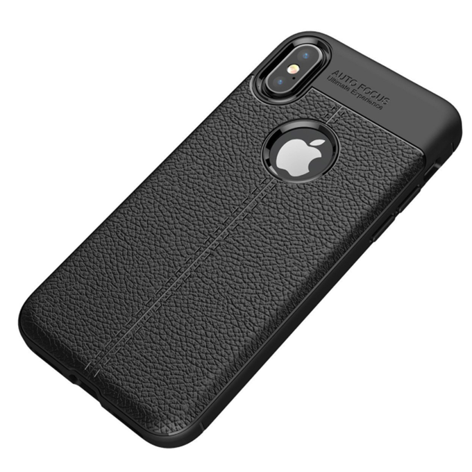 High Quality Phone Case Litchi Texture TPU Back Cover for Xiaomi Mi8/Mi8 SE/6X/A2/Redmi Note 5 Pro