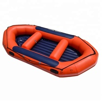 CE best-selling New 4.1m 1.8mm Pvc Cheap River Raft Boat for Chile