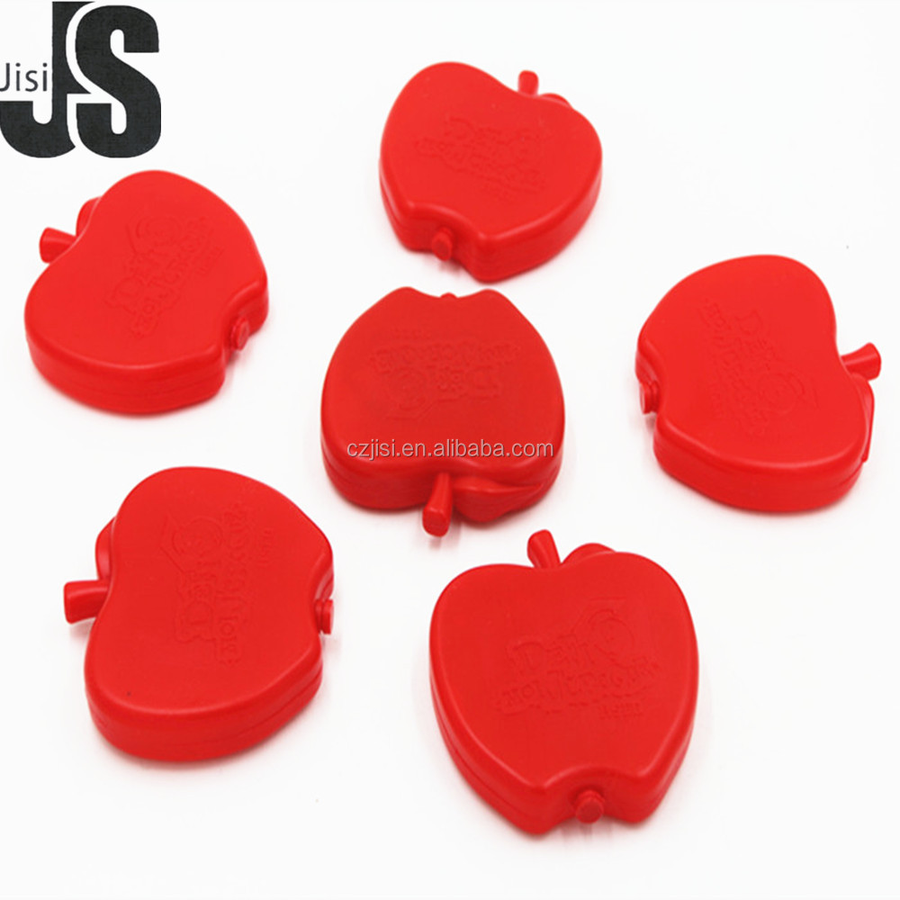 Factory custom apple shape small gel coolers pack for Christmas