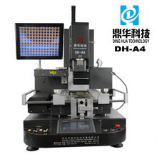 Dinghua mobile phone soldering iron bga rework machine soldering chips of led, wifi mode machine