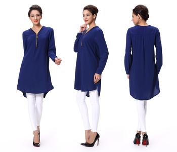 387ed1bac8aee China al por mayor de las mujeres ropa elegante blusa diseños señora blusa  manga larga Mujer