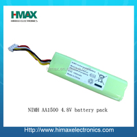4.8v 2500ma Ni-mh Rechargeable Battery Pack