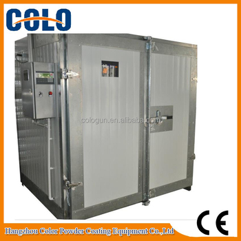 Small portable electric powder paint curing oven buy for Paint curing oven