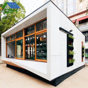 reefer construction nice prefabricated container house shop mobile coffee bar bars, modular coffee shop 2bedroom prefab house